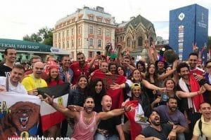 صور مشجعات وجماهير منتخب مصر 2019