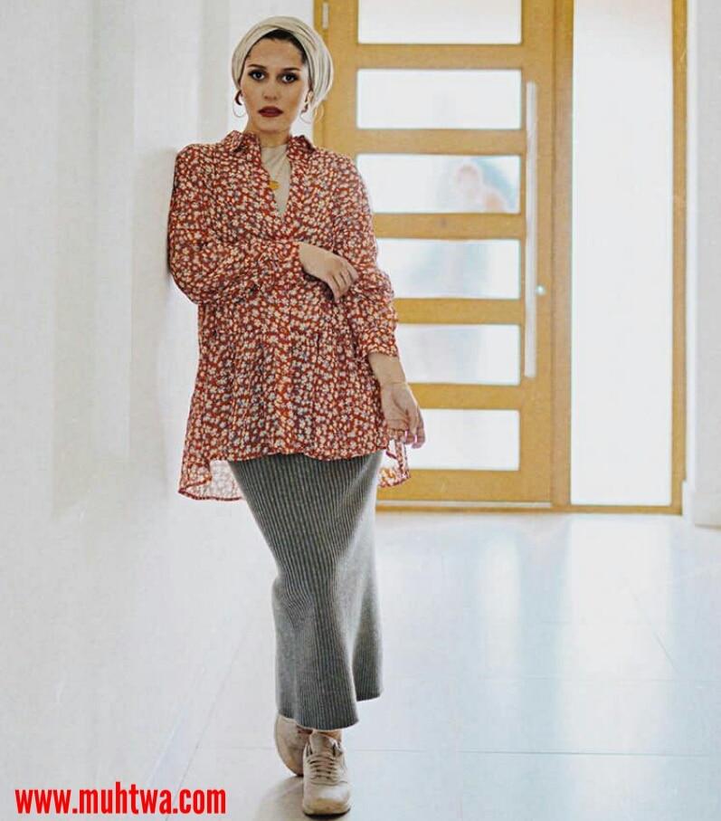 8e91ab9a4681a اجمل ملابس الحوامل للمحجبات - موقع محتوى