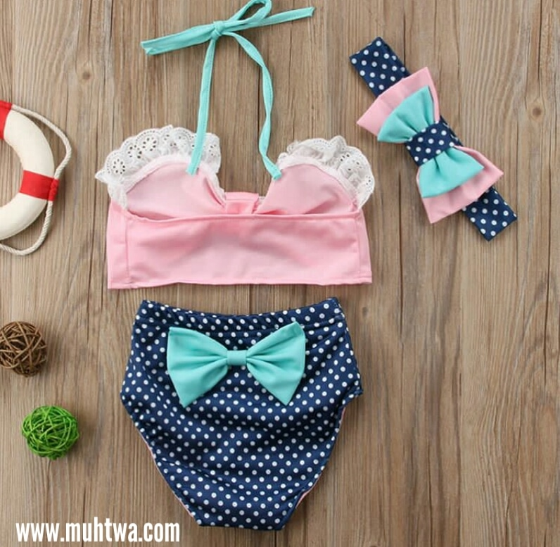 ملابس اطفال بنات البحر 2019