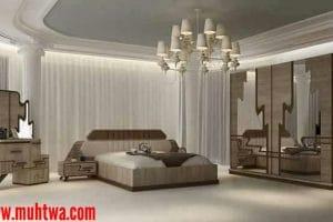 أحدث تصاميم غرف نوم تركية 2019