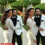 صور حفل زفاف الفنانة هبة عبد العزيز