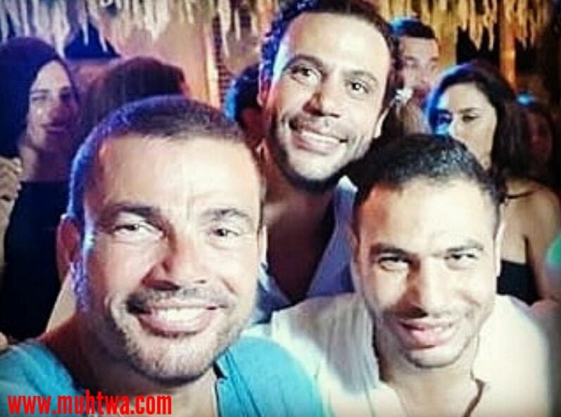 صور حفل زفاف الفنان محمد أمام