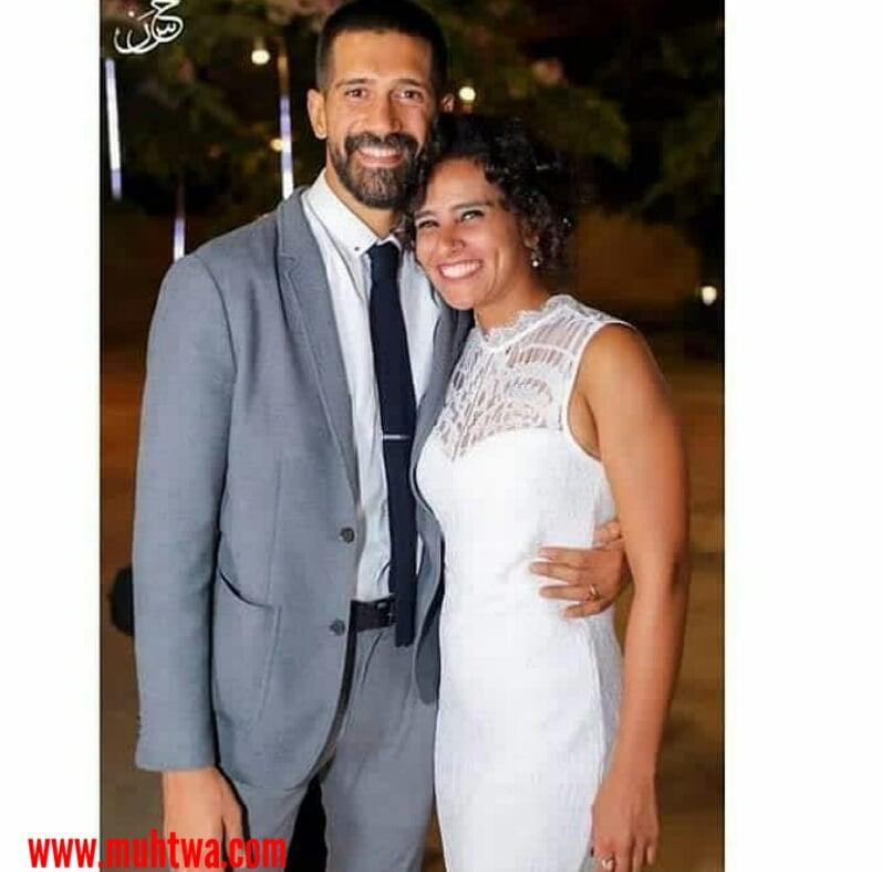 احمد مجدى وزوجته