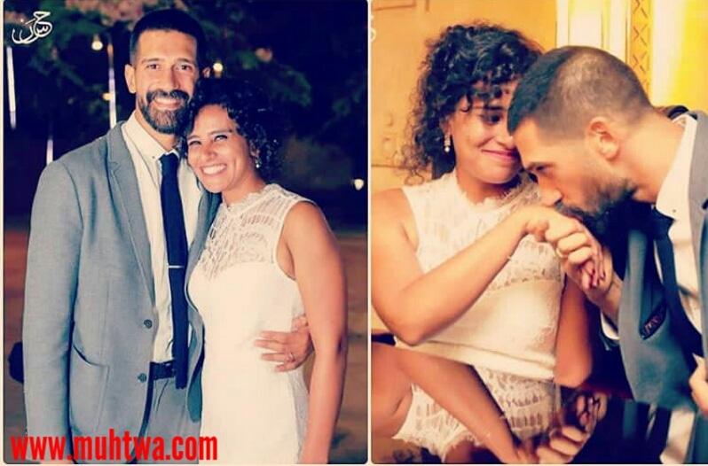 احمد مجدى وزوجت