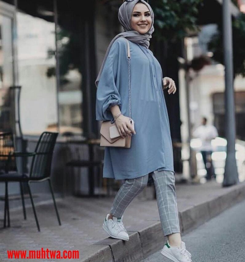 تنسيق ملابس محجبات 2021 لبس محجبات  موقع محتوى