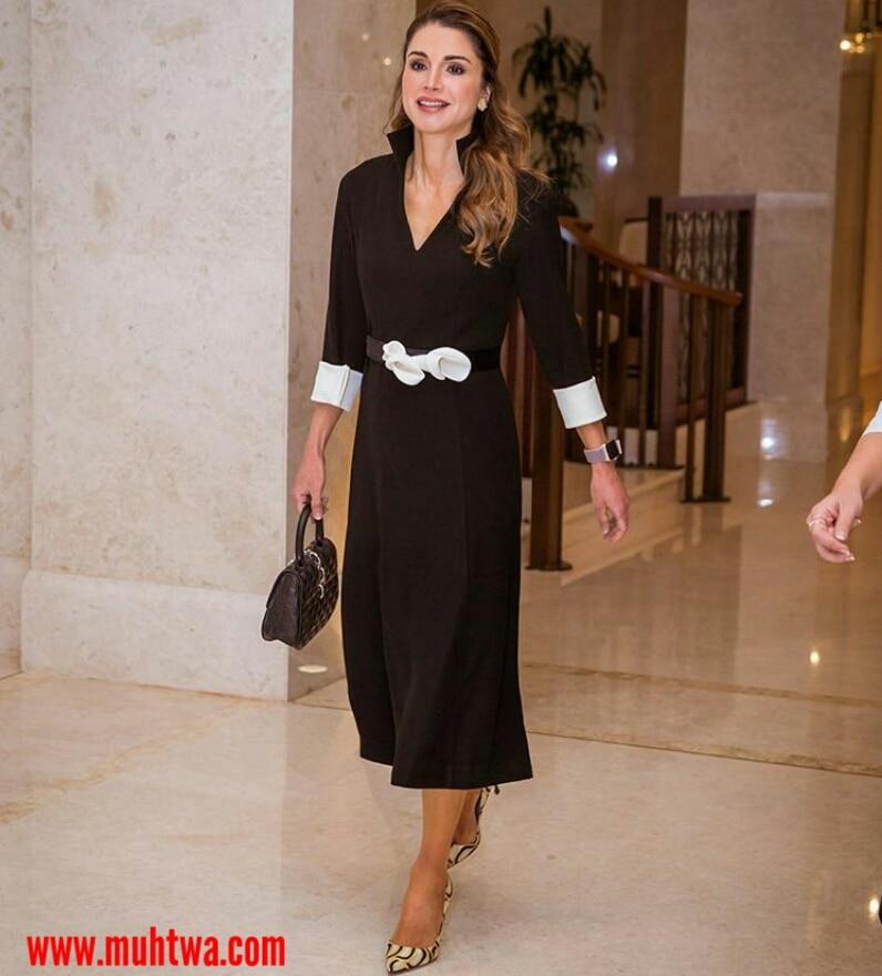 اطلالات الملكة رانيا