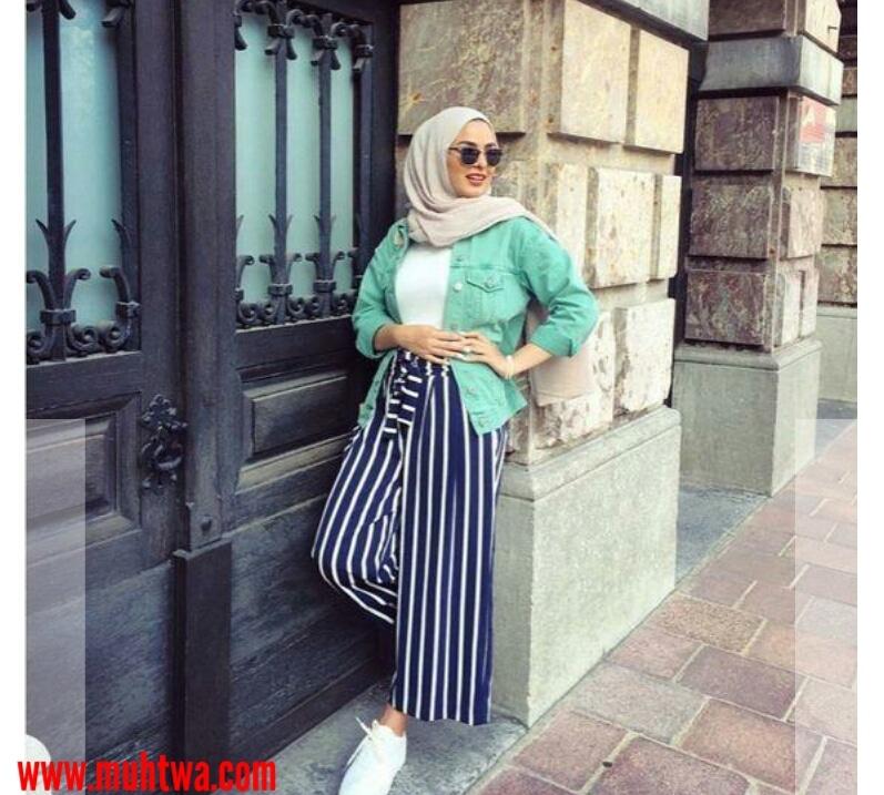 b00ed464b4765 طرق تنسيق ملابس محجبات للجامعة - موقع محتوى