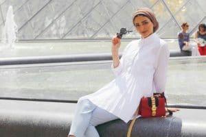 ملابس المحجبات من وحى مدونات الموضة الخليجيات