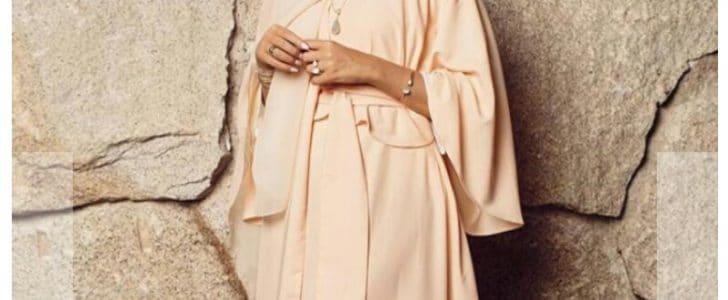 عبايات راقية من مدونة الموضة فاطمة حسام