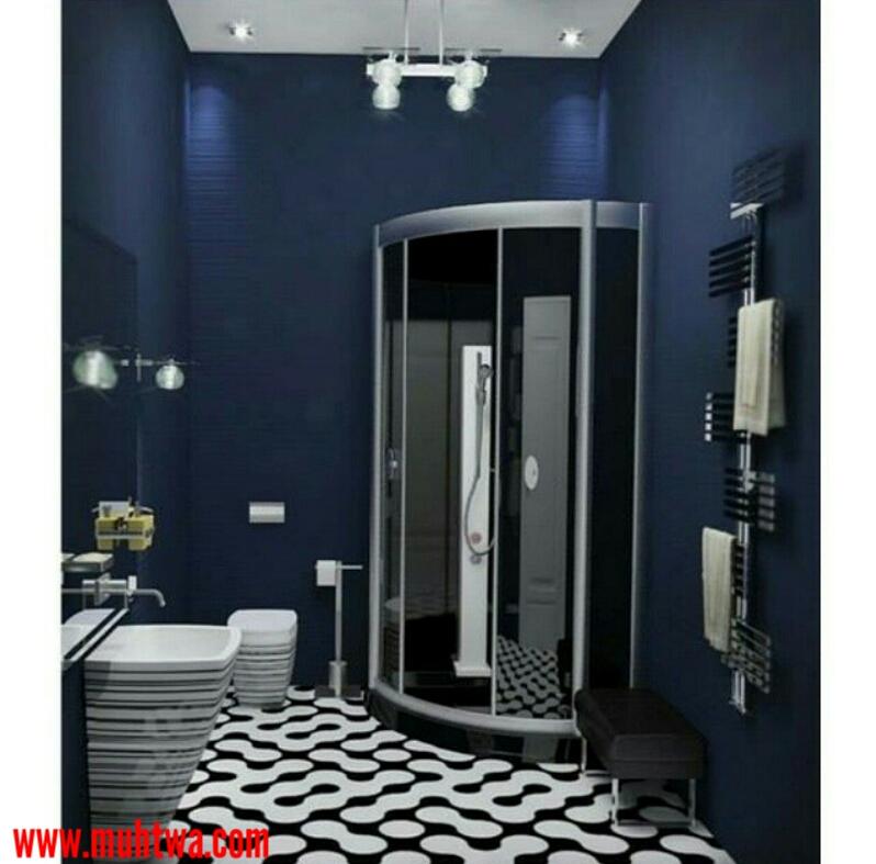 ديكورات حمامات