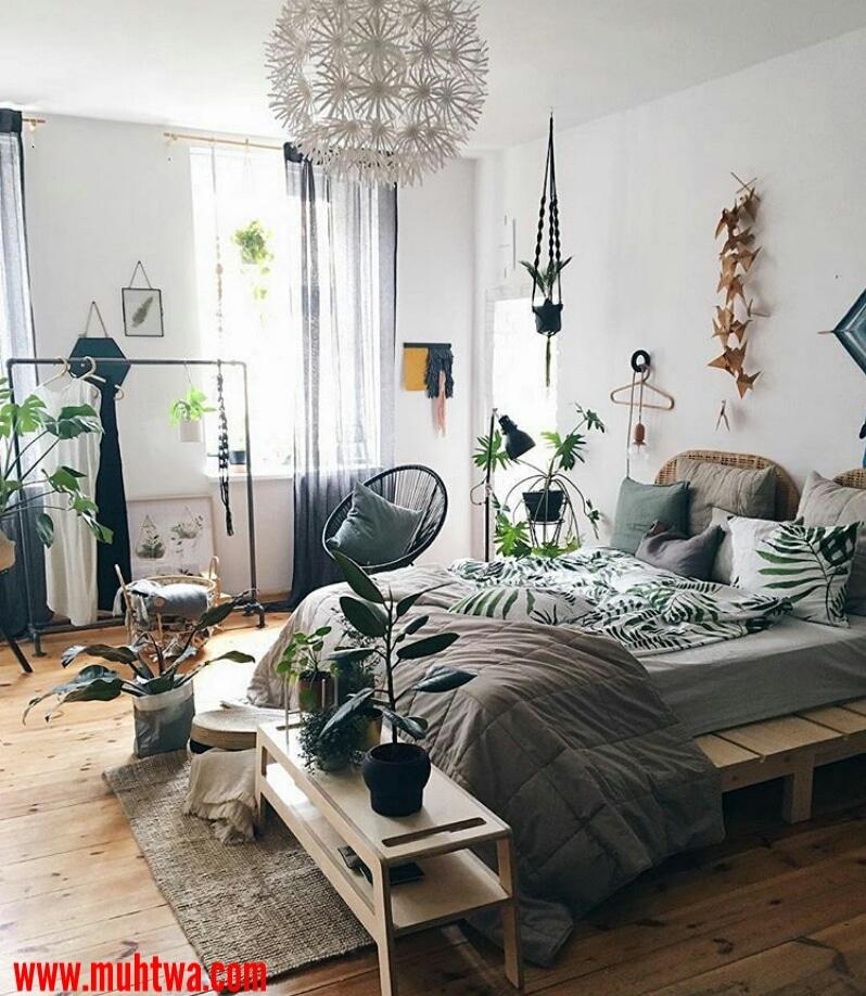 اجمل افكار ديكور غرف النوم 2019