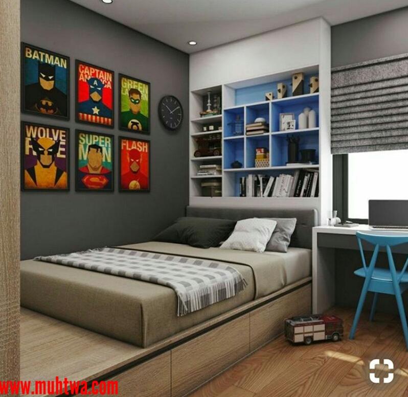 غرف نوم شباب