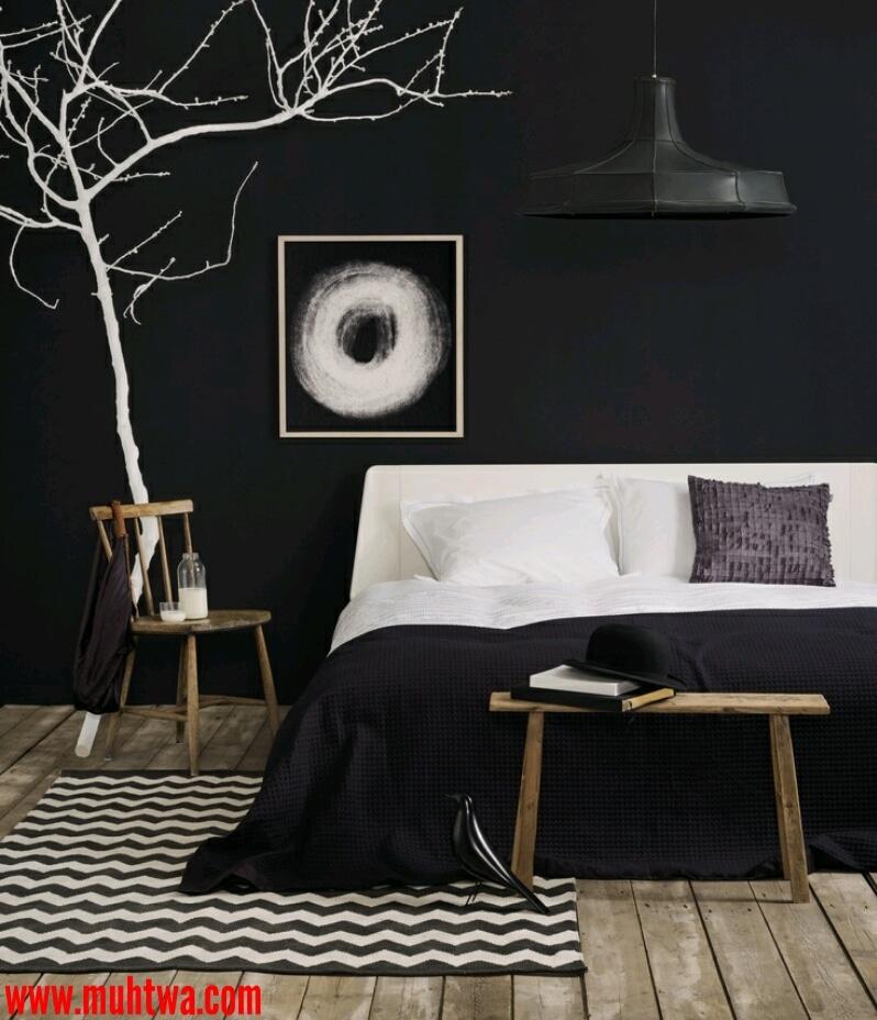 الوان غرف النوم