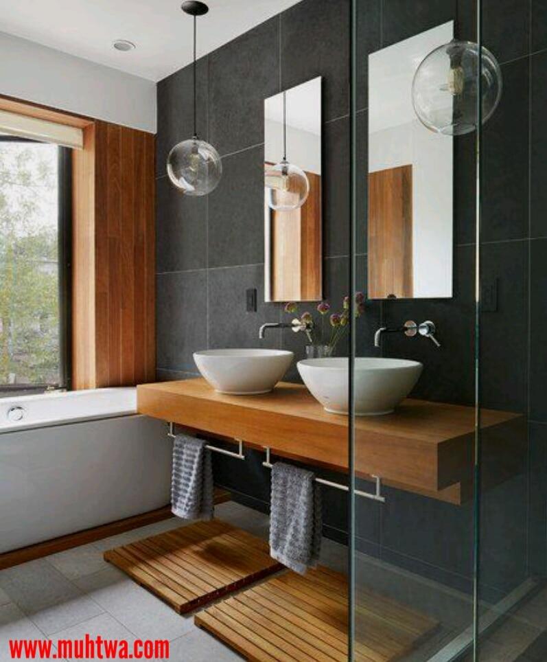 ديكور حمامات