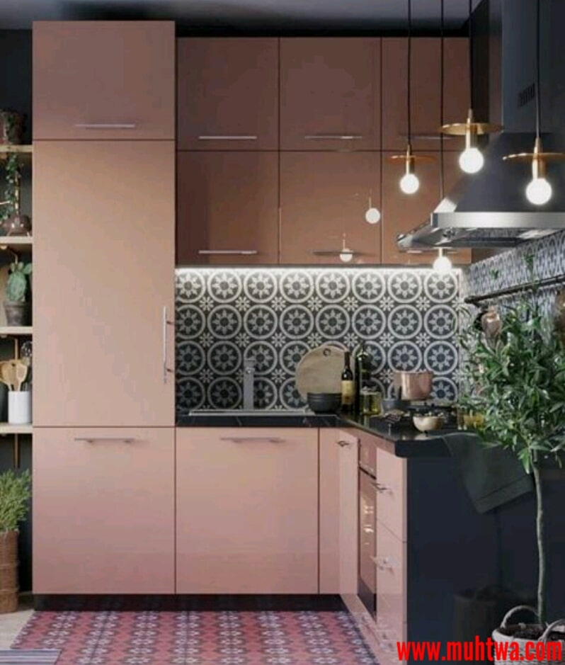 ديكورات مطابخ جديدة 2018 اجمل ديكورات وتصاميم مطبخ مودرن: ديكورات مطابخ صغيرة 2019