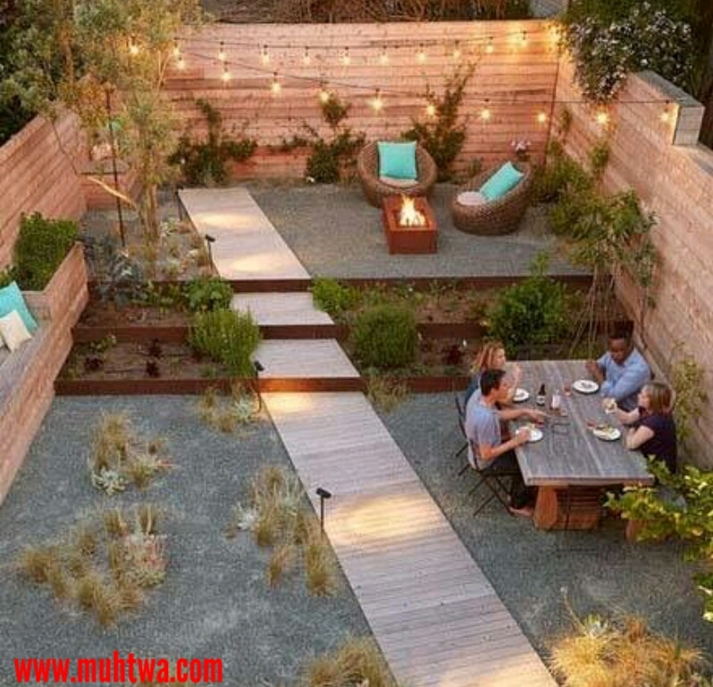 حدائق صغيرة