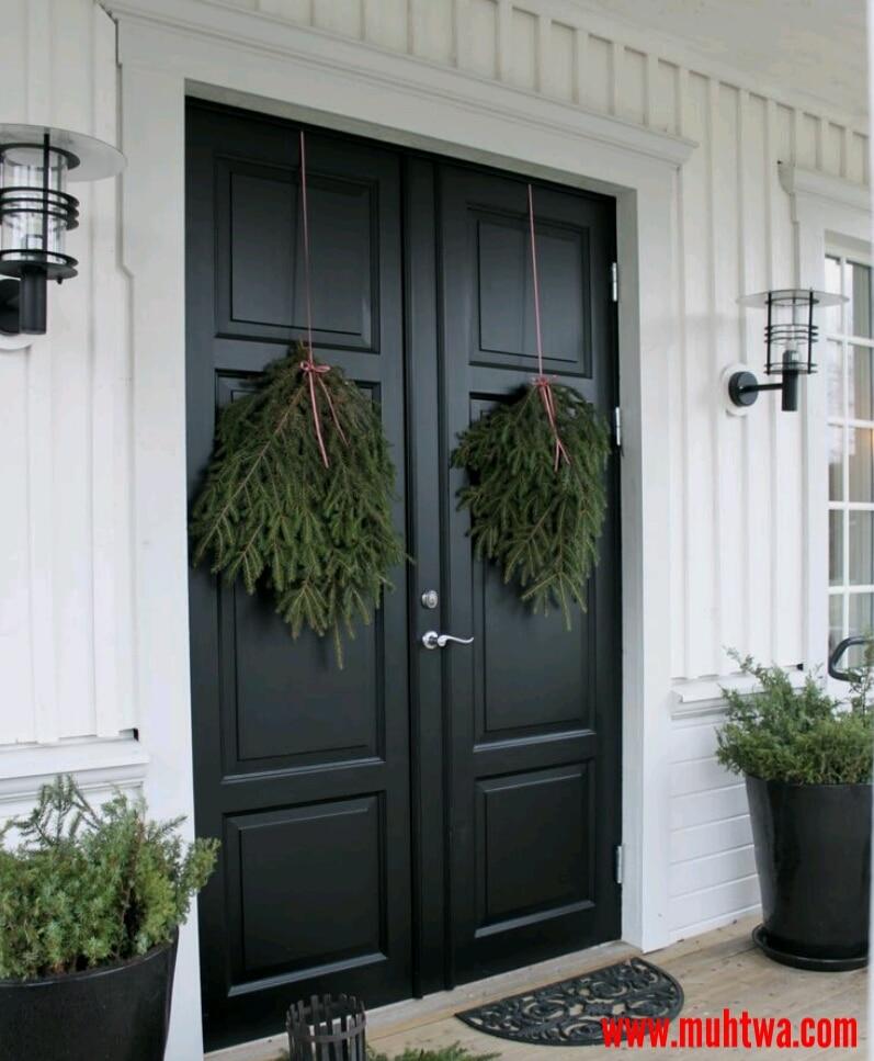 أبواب منازل