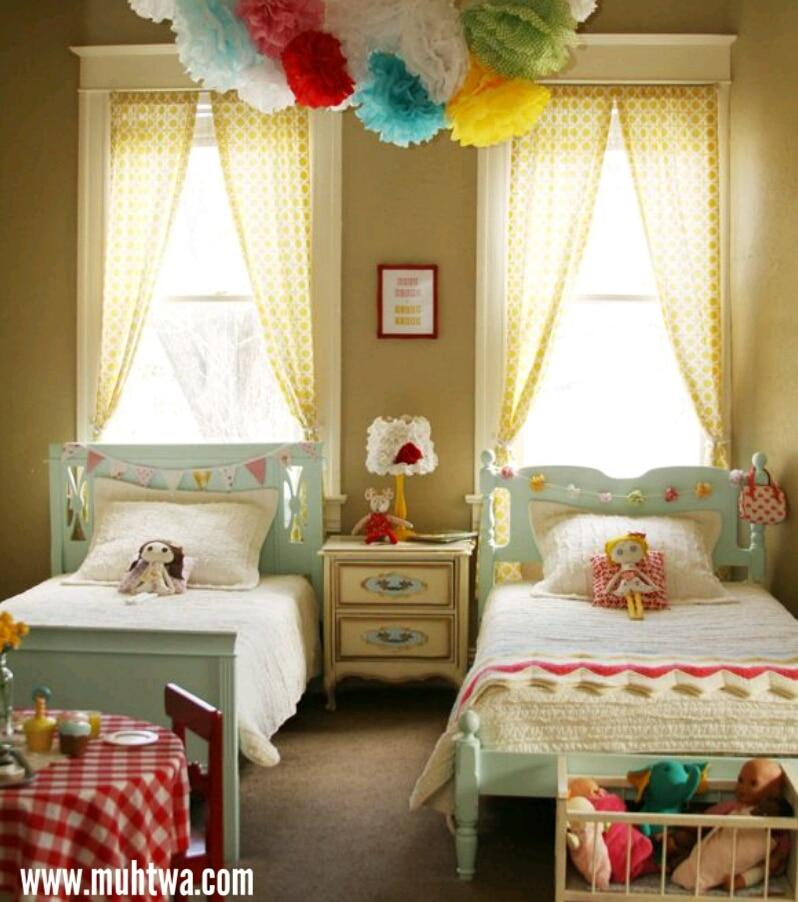 ستائر غرف اطفال