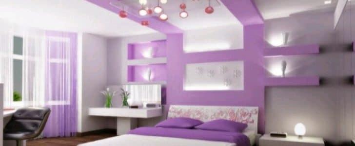 غرف نوم باللون الموف جديدة موقع محتوى