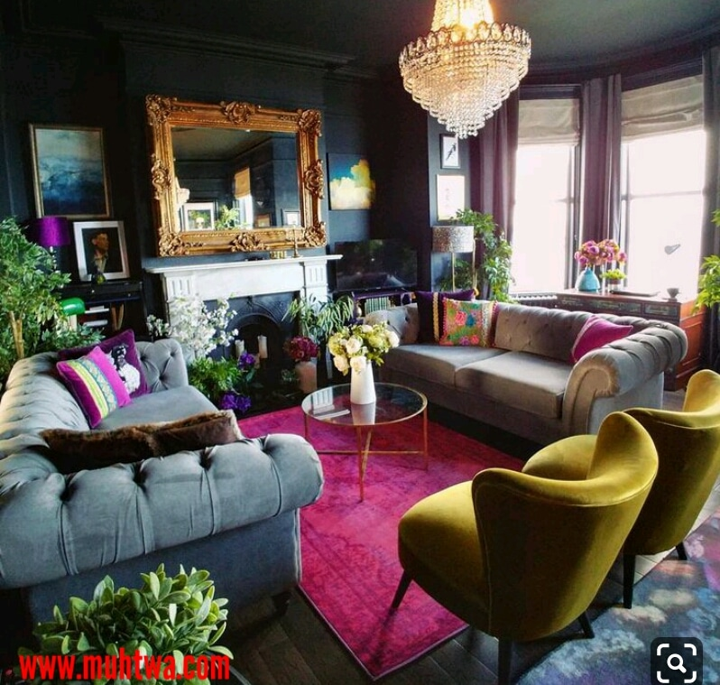 ديكورات غرف معيشة