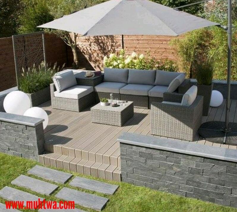 تصاميم حدائق منزلية جميلة 2019