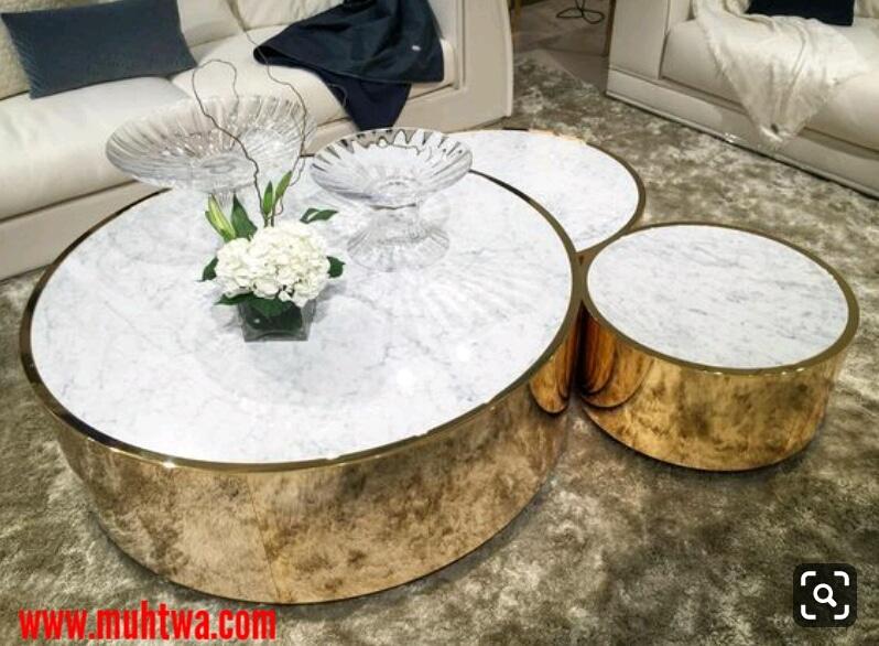تصاميم طاولات مودرن لغرف الجلوس 2019