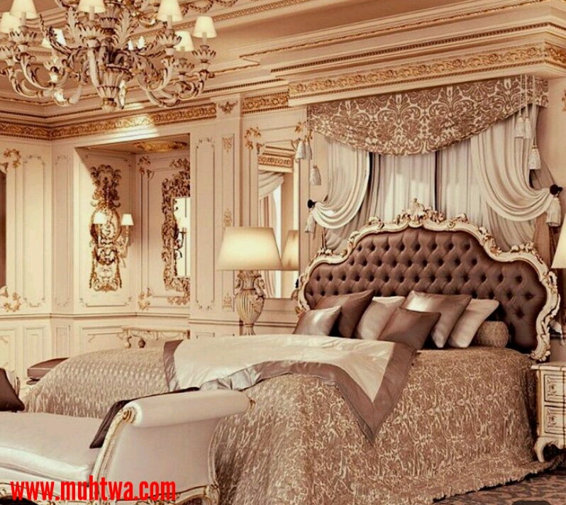 6550a1756 غرف نوم كلاسيك فاخرة 2019 - موقع محتوى