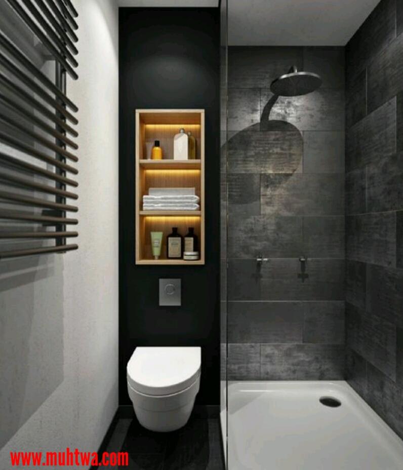 ديكورات حمامات مودرن صغيرة موقع محتوى