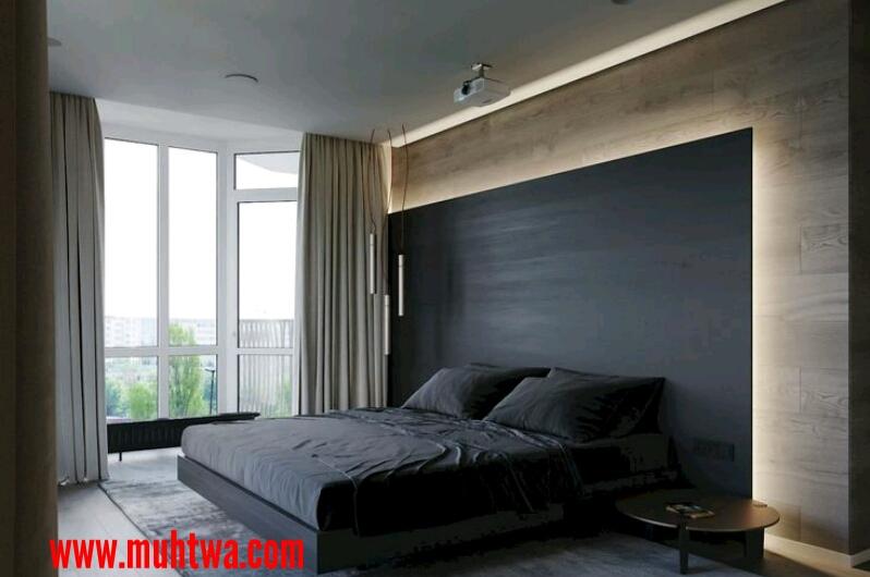 جدران غرف نوم
