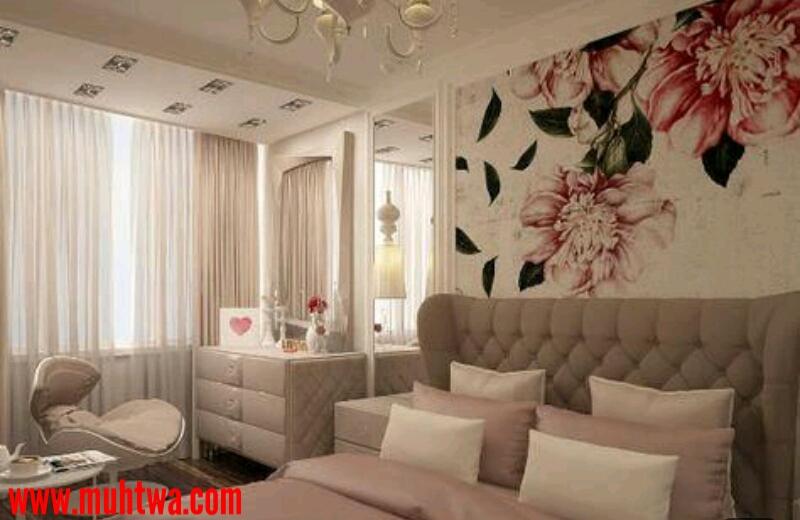 جدران غرف النوم
