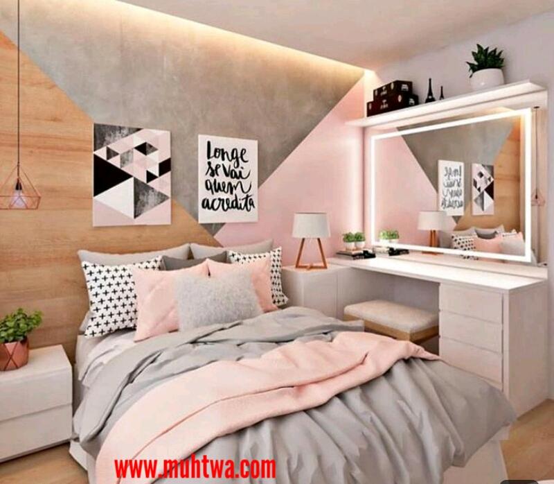 غرف نوم عرسان للمساحات الصغيرة موقع محتوى