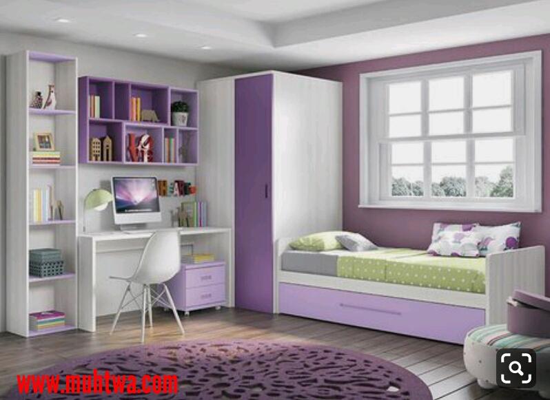 غرف نوم صغيرة المساحة للأطفال