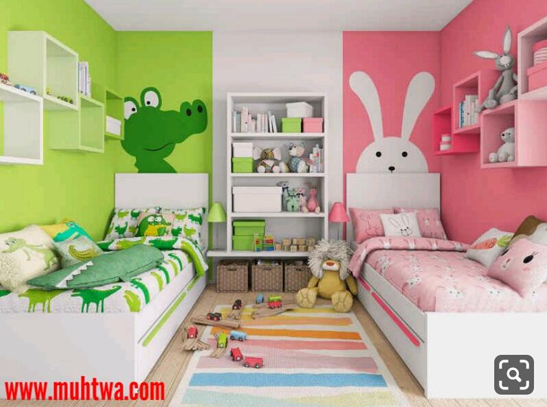 غرف اطفال صغيرة