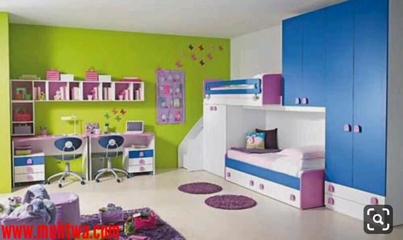 ديكورات غرف اولاد