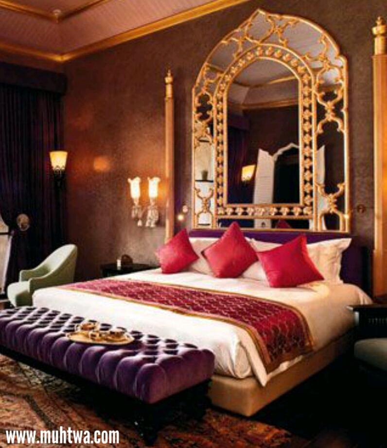 غرف نوم مغربية