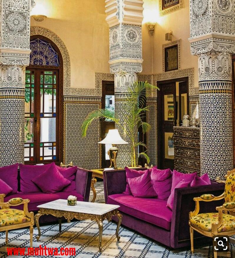 غرف جلوس مغربية