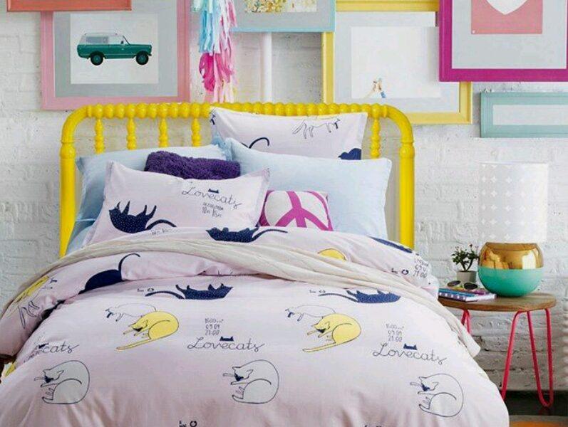 اشكال مفارش سرير اطفال