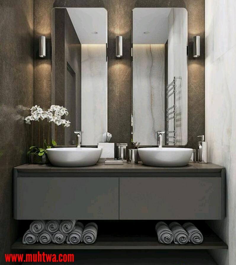 دواليب حمامات
