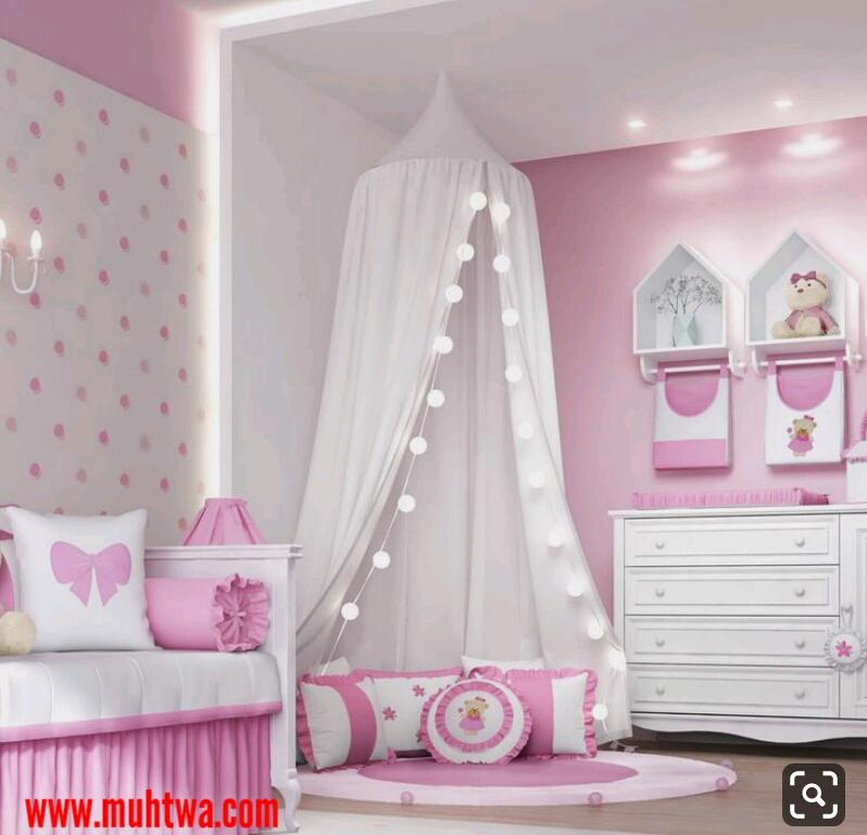 ديكورات غرف بنات