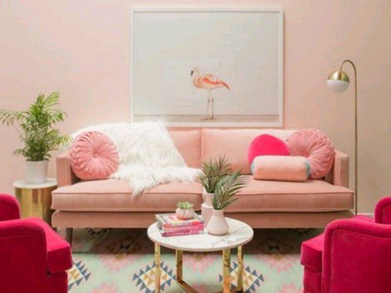 اجمل ديكورات غرف معيشة بألوان فاتحة