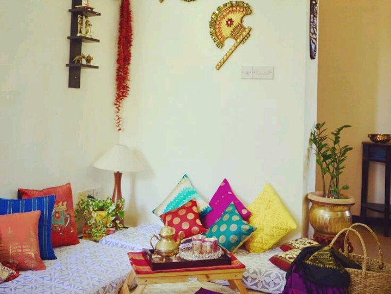 ديكورات هندية بسيطة
