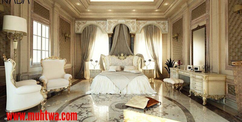 تصاميم غرف نوم إيطالية كلاسيك 2020