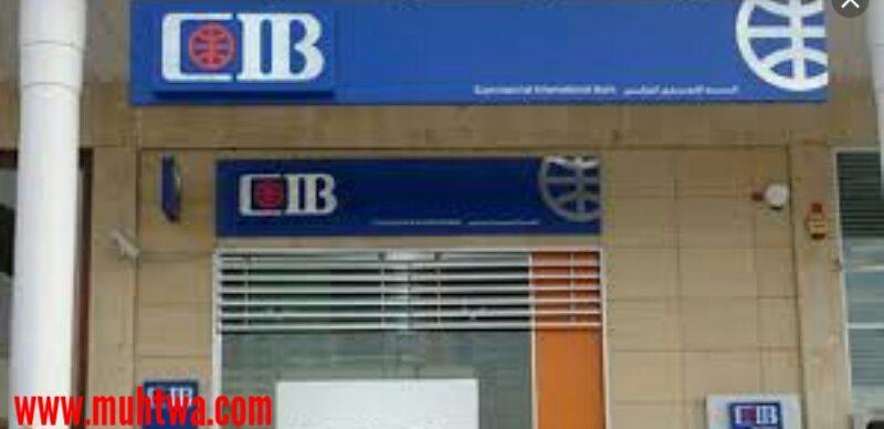 مواعيد عمل بنك التجارى الدولى cib فى مصر