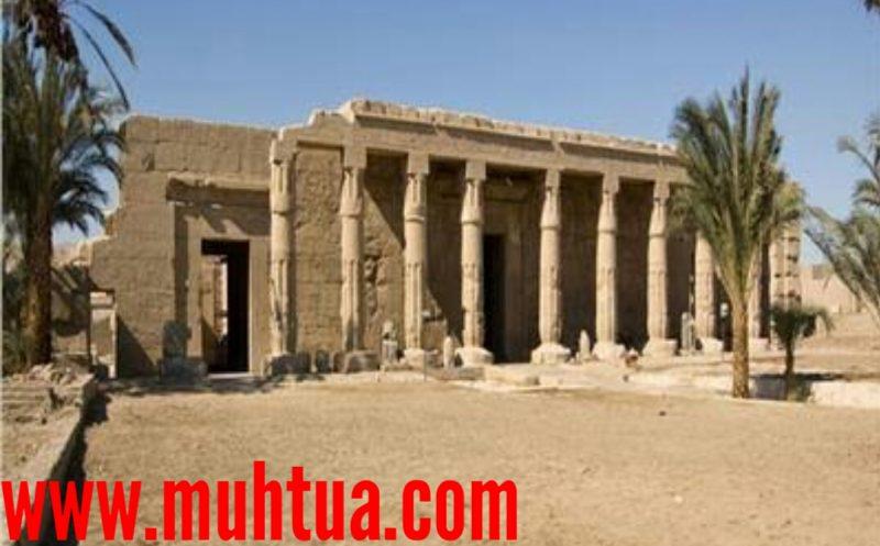 اماكن الاثار الفرعونية في سوهاج