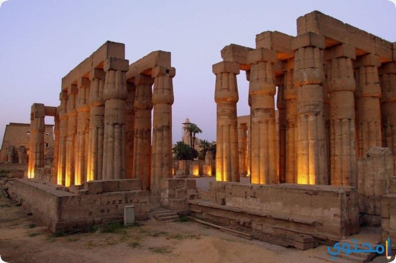 صور ومعلومات عن معبد الأقصر