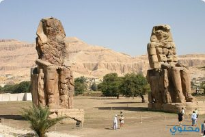 صور ومعلومات عن تمثالا ممنون