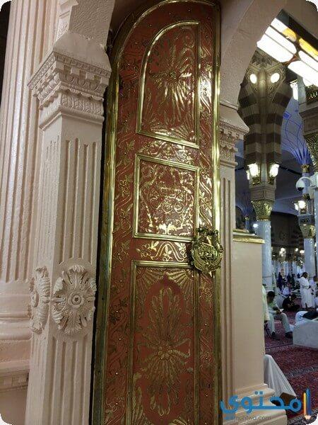 خريطة ابواب المسجد النبوي