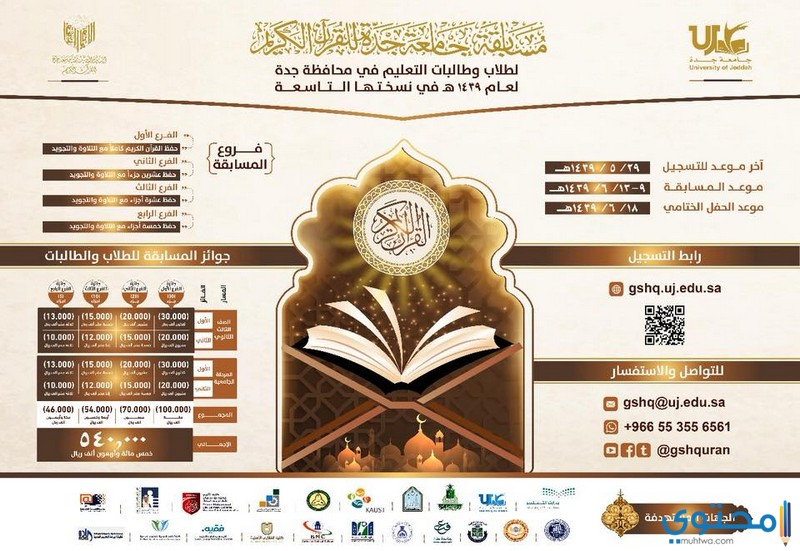 مسابقة جامعة جدة للقران الكريم