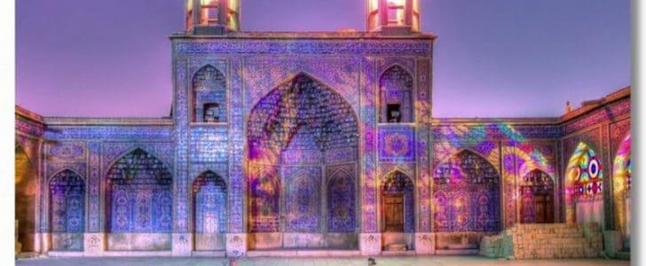 اجمل صور مسجد قوس قزح في ايران