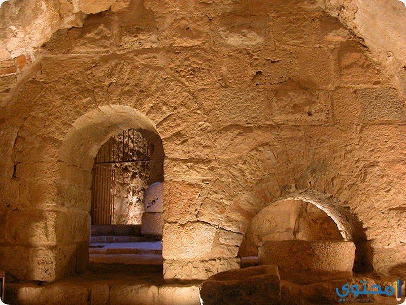 من داخل معبد حتشبسوت